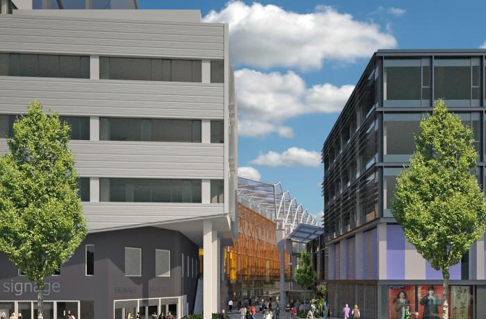 Wilton Shopping Centre Redevelopment